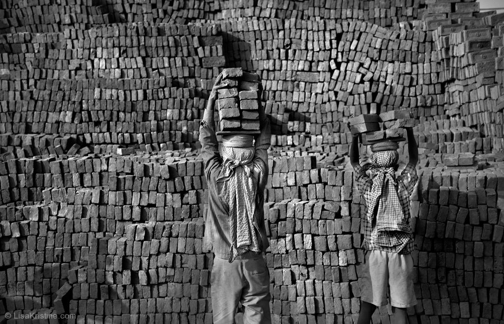 Brick Wall Art brick wall - nepal | lisa kristine