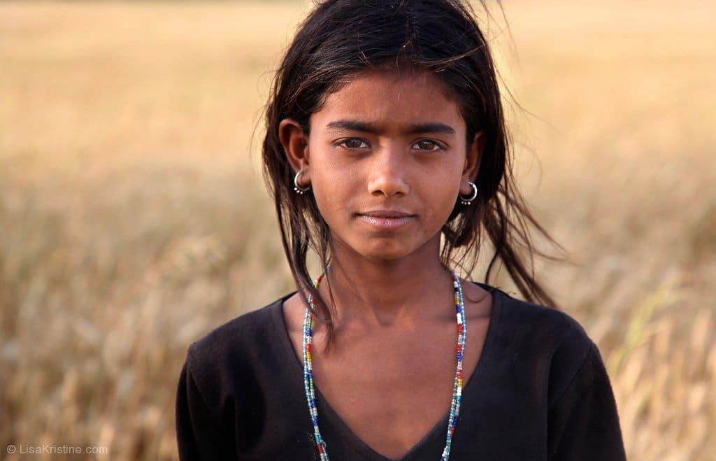 free child india lisa kristine