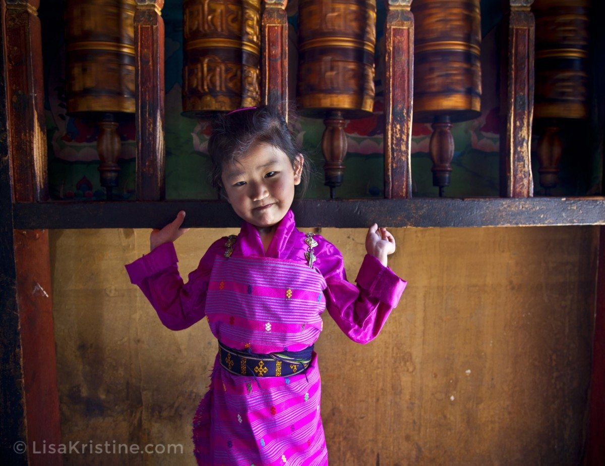 Lisa_Kristine_com-Children's Blessing, Bhutan