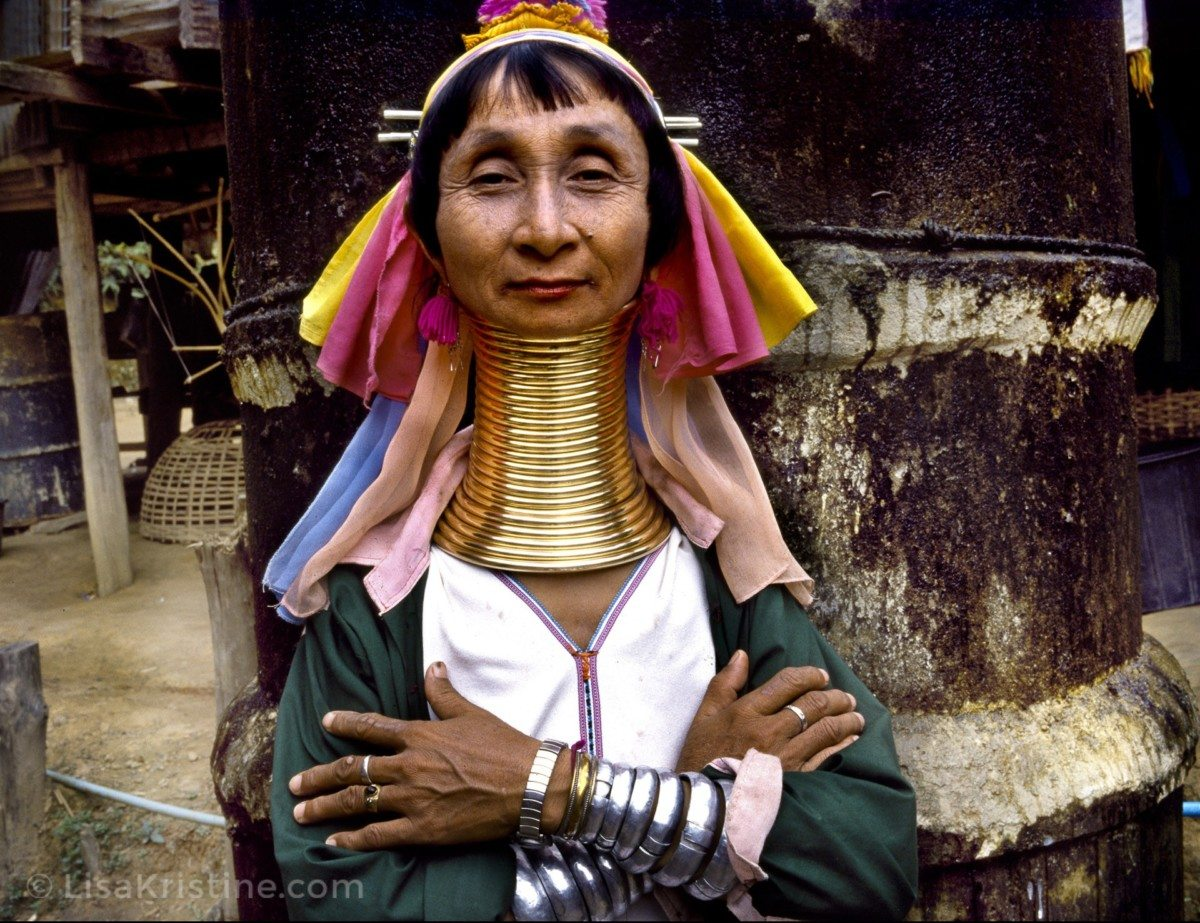 long neck in thailand essay Thai authorities actually negotiated to keep them in thailand, while repatriating   the padaung is the tribal group of the long-necked women, and two of them  had  rape, summary executions, forced labor, and destruction of entire villages.
