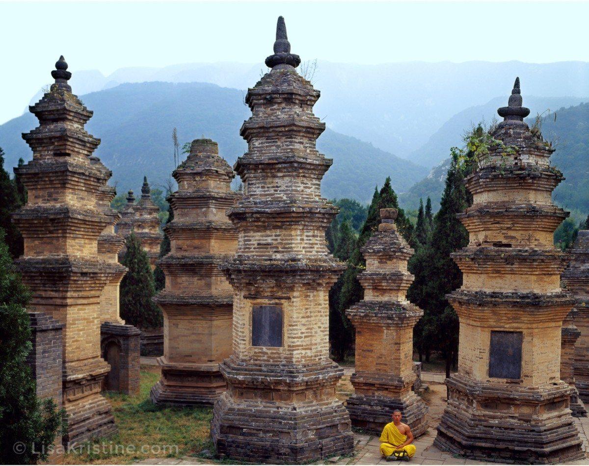 Pagoda Forest China Lisa Kristine