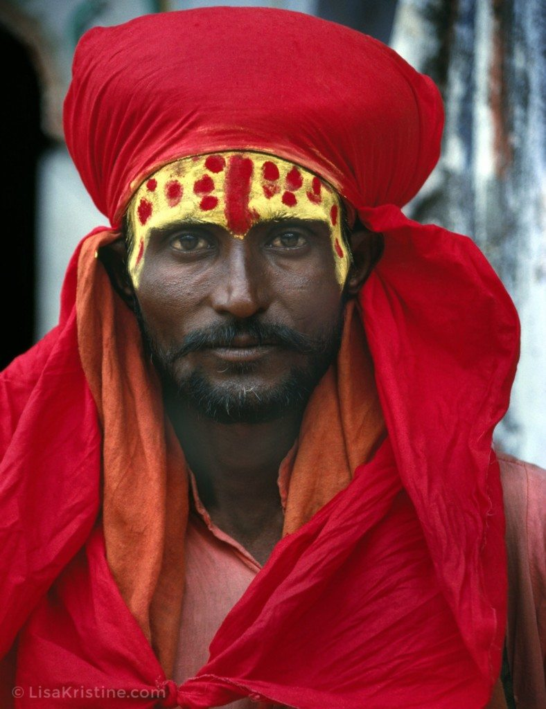 Lisa_Kristine_com-Red Sadhu-India