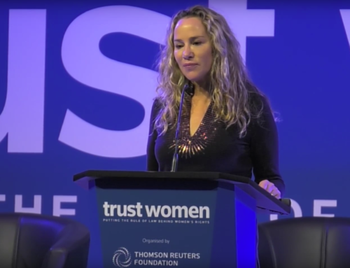 Thomson Reuter's Trust Women Conference in London