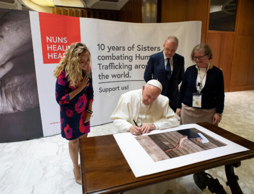 Pope Francis Launches Lisa Kristine's Exhibition – Vatican, Rome