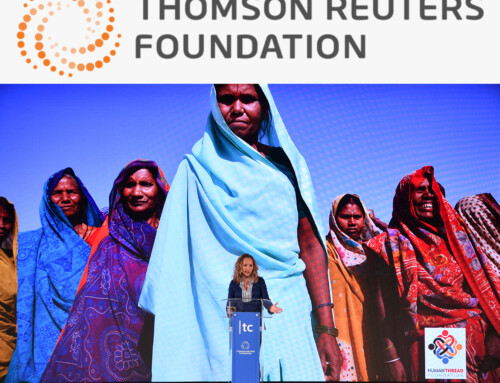 Lisa speaks at Thomson Reuters Foundation's world-leading human rights forum, London.